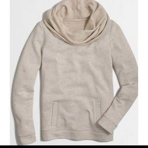 J. crew Cowl Neck Kangaroo pocket Sweater. Size M